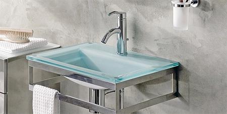 Les matériaux de la salle de bain moderne